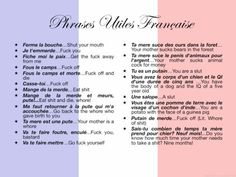 French expressions NOT for Kids!