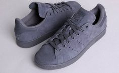 Adidas Stan Smith suede grey