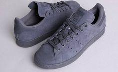 Adidas Stan Smith suede grey