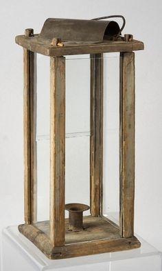 early wood lantern