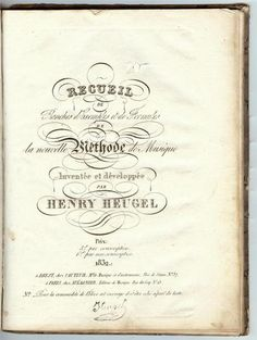 Extremely Rare 1832 Music Teaching Book