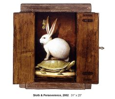 Kevin Sloan, Santa Fe Painter. Sloth and Perserverence. 2002