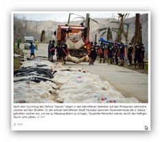 Nach dem tödlichen Taifun, Phillipinen