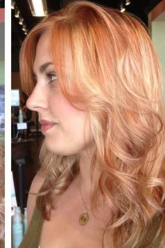 Red Hair Color with Blonde Highlights   Hair Ideas, Blondes Hairstyles, Hair Colors, Hair Colours, Future Hair ...