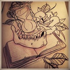 hourglass tattoo sleeve - Google Search