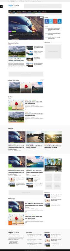 HighCriteria - Multipurpose Magazine Wordpress Theme #premium Download: http://themeforest.net/item/highcriteria-multipurpose-magazine-theme-/12622420?ref=ksioks