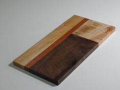 Mixed Wood Cutting Board by TheWoodMade on Etsy