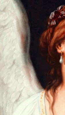 Angel Aesthetic, Aesthetic Art, Aesthetic Pictures, Rennaissance Art, Angel Wallpaper, Renaissance Paintings, Aesthetic Painting, Old Paintings, Aesthetic Pastel Wallpaper