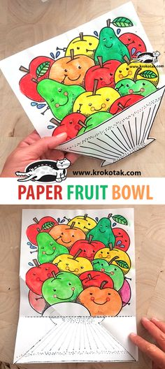 krokotak | PAPER FRUIT BOWL