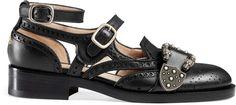 Queercore brogue monk shoe
