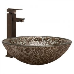 Mercury Glass Vessel Sink - Bathroom Sinks - Bathroom