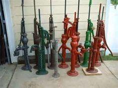 Vintage Water hand Pumps