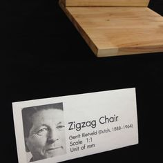 Re Zigzag chair asia size for Furniture design class.
