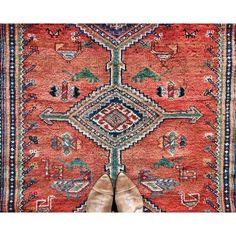 Beautiful vintage rug