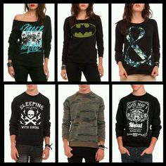 I have the pierce the veil one :) and sleeping with sirens one <3 really want the others!