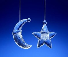 Club Pack of 16 Icy Crystal Santa Face Star and Moon Christmas Ornaments 3 * Visit the image link more details.