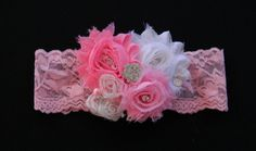 OMG....she HAS to have this band!!! Any Little Lady Newborn to 3 years will look amazing in this beautifully embellished lace band! This one is a stunner! See more 3LL Bows at Threelittleladiesbowtique.com