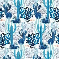 cactus print fabric - Google Search