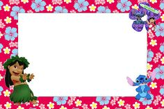Lilo and Stitch: Free Printables and Images.