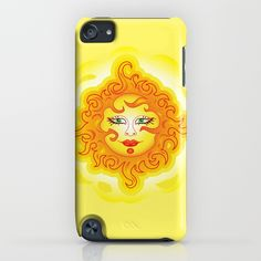 SOLD iPod Touch Case Abstract Sun G218! https://society6.com/product/abstract-sun-g218_iphone-case#s6-2223641p20a9v151a52v377 #Society6 #iPod #Touch #Case #Abstract #Sun #yellow #summer #sunrise #sunshine #children
