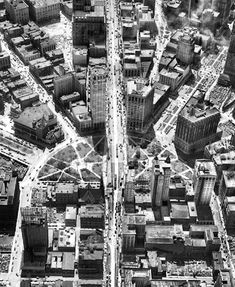 Woodward plan aerial, 1920 / State of Fred