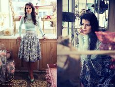 Lady At The Vintage Shop (by Susanna Vesna) http://lookbook.nu/look/4464571-Lady-At-The-Vintage-Shop