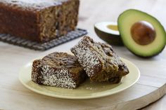 Classic banana bread that uses creamy Fresh California Avocado to replace shortening. The result is very moist and great for breakfast, snacks, tea time or dessert.