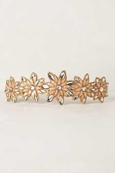 Jeweled Floral Belt #anthropologie