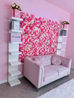 Cute Bedroom Ideas, Cute Room Decor, Room Ideas Bedroom, Girl Bedroom Designs, Bedroom Decor, Boutique Bedroom Ideas, Spa Room Decor, Girl Bathroom Decor, Beauty Room Decor