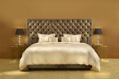 #boxspring #bed #decoration #decor #bedding #beddecor #interiordesign #design #bedroominspo #bedroominspiration #beds #headboard Modern Headboard, Headboards For Beds, Bedroom Inspo, Bed Design, Upholstery, Interior Design, Latex, Furniture, Home Decor