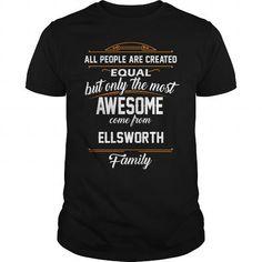 Awesome Tee ELLSWORTH Name tee Shirts T shirts