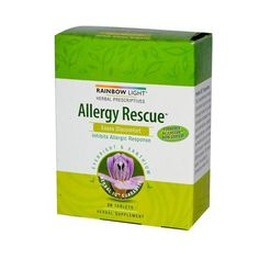 Rainbow Light Allergy Rescue - 30 Tablets