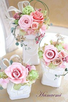 Flowers Arrangements Centerpieces Printing Videos Architecture Home Referral: 4067789200 Lantern Centerpiece Wedding, Small Centerpieces, Tea Party Decorations, Flower Decorations, Beautiful Flower Arrangements, Beautiful Flowers, Flower Crafts, Flower Art, Birthday Wishes Flowers