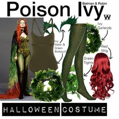 Inspired by Uma Thurman as Poison Ivy in 1997's Batman & Robin.