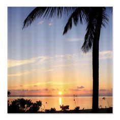 Dcor De Salle Bains Bain Romantique Sunrise Art Rideau Beach Shower CurtainsBeach
