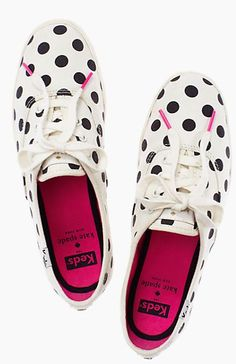 Love these polka dot keds for kate spade! http://rstyle.me/n/fag3enyg6