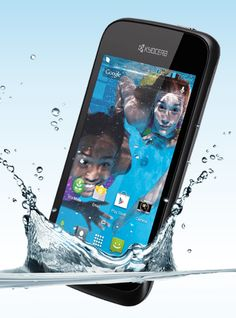 Enter to win WATERPROOF Smartphone!  No more tears when your phone drops into the bowl!