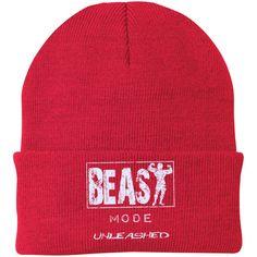 Beast Mode Unleashed Knit Cap