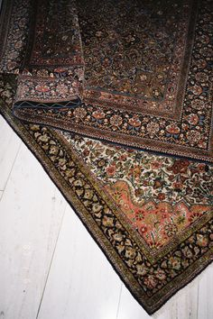 always having associated oriental carpeting with elderly people, I am reactant (and relieved) to admit I actually love it.