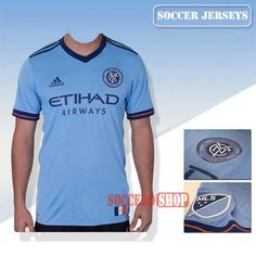 A+ Quality New York City Newest Home Soccer Jerseys 2017 2018 Replica Personalised Printing | Soccero-Shop