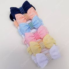 Baby Hair Bows, Baby Headbands, Baby Doll Clothes, My Baby Girl, Diy Hairstyles, Decorative Accessories, Hair Clips, Arts And Crafts, Hair Accessories