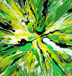 Abstract Spin Painting  by Mark-Chadwick