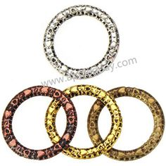Zinc Alloy Round Ring Beads,,Plated,Cadmium And Lead Free,Various Color For Choice,Approx 14.5*1.5mm,Hole:Approx 10mm,Sold By Bags,No 001501