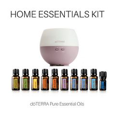 doTERRA Home Essentials enrollment Kit Domáci lekár 10ks 150 ml