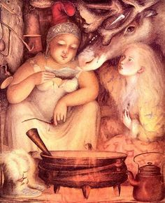 The Snow Queen by Angela Barrett