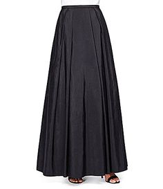Alex Evenings Long Taffeta Full Skirt #Dillards