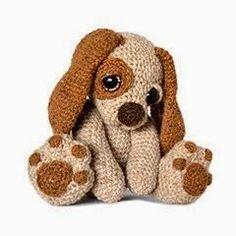 Free pattern… so cute!   Crochet   Pinterest   Puppys, Patterns and Free Pattern