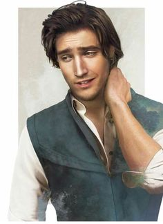 """This seriously looks like how Flynn would look in real life. They even got the nose right. Flynn Rider added to """"Real Life"""" Disney guys collection by Jirka Väätäinen Designflynnrider Disney Magic, Disney Pixar, Disney Rapunzel, Disney Men, Disney Fan Art, Disney And Dreamworks, Disney Love, Punk Disney, Disney Facts"""