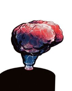 Lumisource LSE-BRNSM-BR Mini Brain Electra Lamp