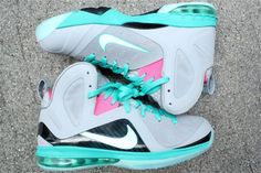 nike-lebron-9-ps-elite-miami-vice-south-beach-03...I could never pull these off but I love them!!!!
